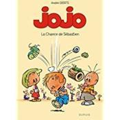 Jojo t.10 ; la chance de Sébastien - Couverture - Format classique