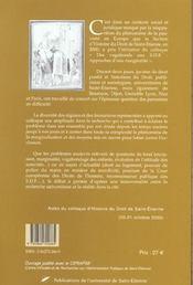 Des Vagabonds Aux Sdf - 4ème de couverture - Format classique