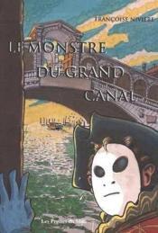 Le monstre du grand canal - Couverture - Format classique