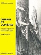 Ombres et lumieres - Couverture - Format classique