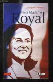 Merci madame Royal - Couverture - Format classique