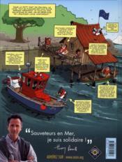 Les sauveteurs en mer t.1 ; alerte à Pen Dru - 4ème de couverture - Format classique