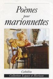 Poemes Pour Marionnettes - Couverture - Format classique