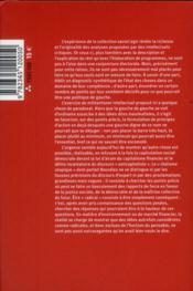 2012 : les sociologues s'invitent dans le débat public - 4ème de couverture - Format classique