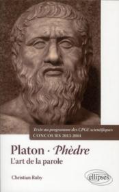 Phedre, platon - Couverture - Format classique