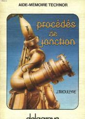 Procedes De Jonction - Couverture - Format classique