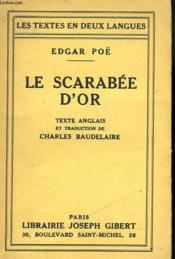 Le Scarabee D'Or - Couverture - Format classique