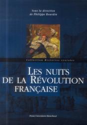 Les Nuits De La Revolution Francaise - Couverture - Format classique