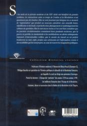 Les Nuits De La Revolution Francaise - 4ème de couverture - Format classique