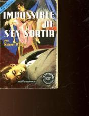 Impossible De S'En Sortir - No Way Out - Couverture - Format classique