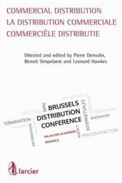 Commercial distribution / la distribution commerciale / commerciele distributie - Couverture - Format classique