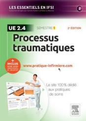 Processus traumatiques ; ue 2.4 - Couverture - Format classique