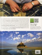 Le patrimoine mondial de l'UNESCO en France - 4ème de couverture - Format classique