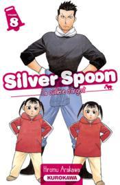 Silver spoon T.8 - Couverture - Format classique