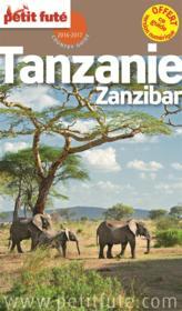 Tanzanie - zanzibar petit fute + offre numerique - Couverture - Format classique