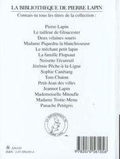 Madame trotte-menu - 4ème de couverture - Format classique