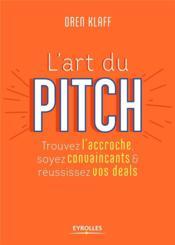 L'art du pitch - Couverture - Format classique