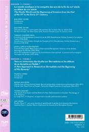Industrie et transport aéronautiques dans les pays du nord au XXe siècle - 4ème de couverture - Format classique