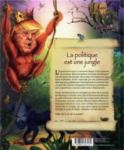 Le livre de la jungle politique - 4ème de couverture - Format classique