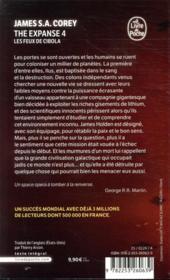 The expanse T.4 ; les feux de Cibola - 4ème de couverture - Format classique