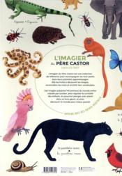 L'imagier géant du Père castor ; la couleur des animaux - 4ème de couverture - Format classique