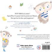 Petit Hibou, une journée avec Maman - 4ème de couverture - Format classique