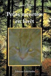 Petits meurtres en forêt - Intérieur - Format classique