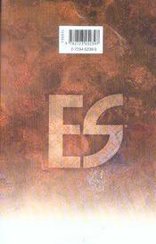Es eternal sabbath - tome 07 - 4ème de couverture - Format classique