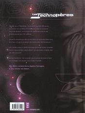 Les Technopères T.5 ; la secte des Techno-évèques - 4ème de couverture - Format classique