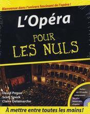 L'opéra pour les nuls - Intérieur - Format classique