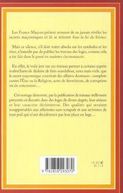 Sous La Loi Du Silence - 4ème de couverture - Format classique