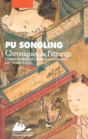 Chroniques De L'Etrange - Couverture - Format classique