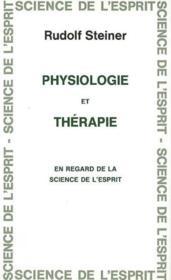 Physiologie et therapie - Couverture - Format classique