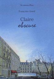Claire Obscure - Intérieur - Format classique