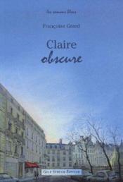 Claire Obscure - Couverture - Format classique