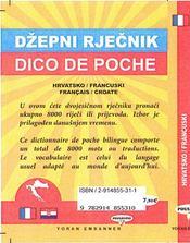 Dico de poche hrvatsko-francuski / français-croate - 4ème de couverture - Format classique