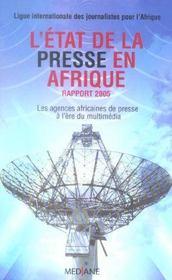L'Etat De La Presse En Afrique, Rapport 2005 - Intérieur - Format classique