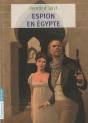 Espion en Egypte - Couverture - Format classique