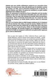 Le Cas D'Odette - 4ème de couverture - Format classique