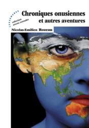Chroniques onusiennes et autres aventures - Couverture - Format classique