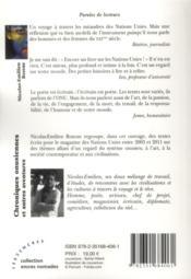 Chroniques onusiennes et autres aventures - 4ème de couverture - Format classique