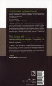 Guide de la publicité foncière (édition 2012) - 4ème de couverture - Format classique