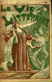 Tourmente. La Vie Litteraire. - Couverture - Format classique