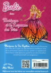 Barbie ; Mariposa et le royaume des fées - 4ème de couverture - Format classique