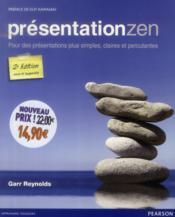 Présentation zen (2e édition) - Couverture - Format classique