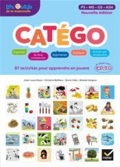 Catégo ; maternelle ; guide pédagogique (édition 2017) - Couverture - Format classique