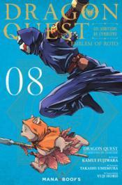 Dragon quest - les héritiers de l'emblème T.8 - Couverture - Format classique