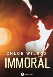 Immoral - Couverture - Format classique
