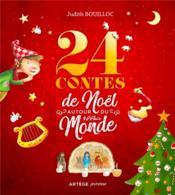 24 contes de Noël autour du monde - Couverture - Format classique