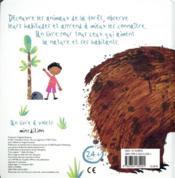 Et voilà un ours ! - 4ème de couverture - Format classique